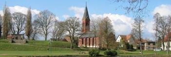 Blick auf den Burgberg mit St. Peter Kirche