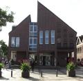 Stadthaus der Stadt Wildeshausen in der Frontansicht