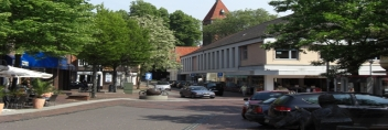 Sicht vom Marktplatz